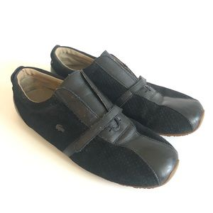 Lacoste Black Thea Mix Loafers